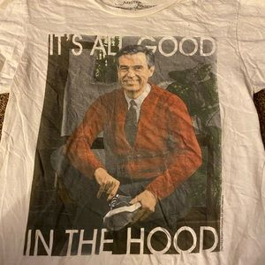 Mr. Rodgers graphic T-shirt